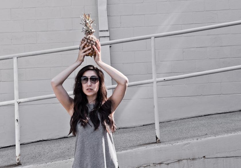 pineapple wanderlust style