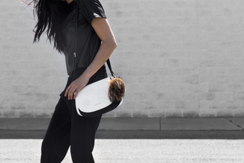 minimalist fashion pom pom
