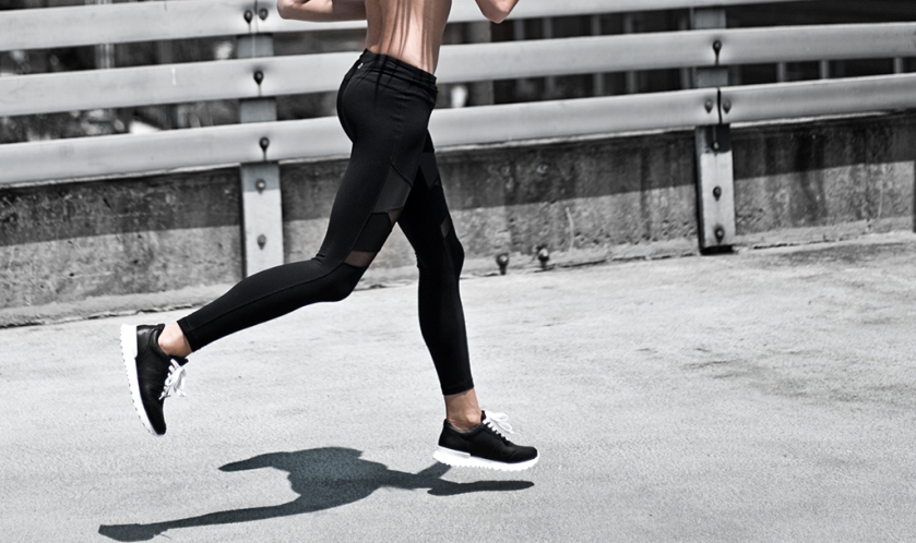 titika activewear leggings and sneakers