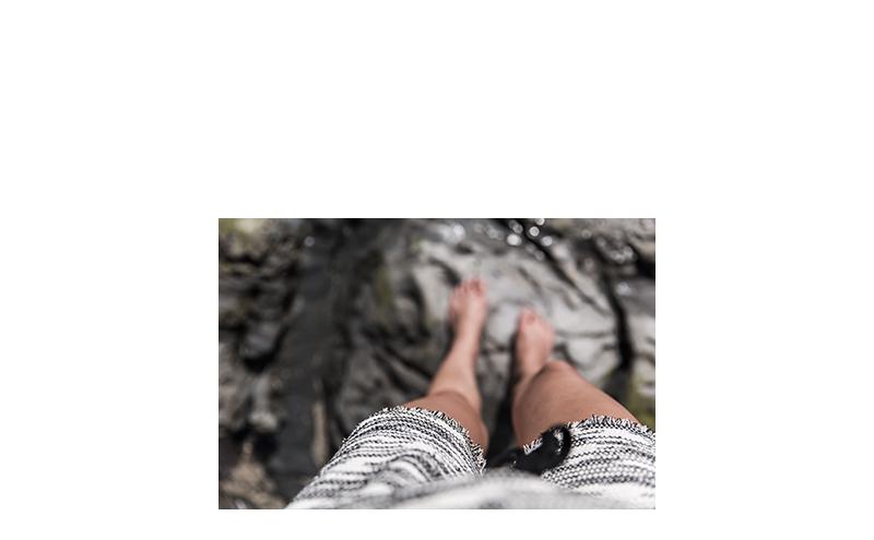 island footsteps