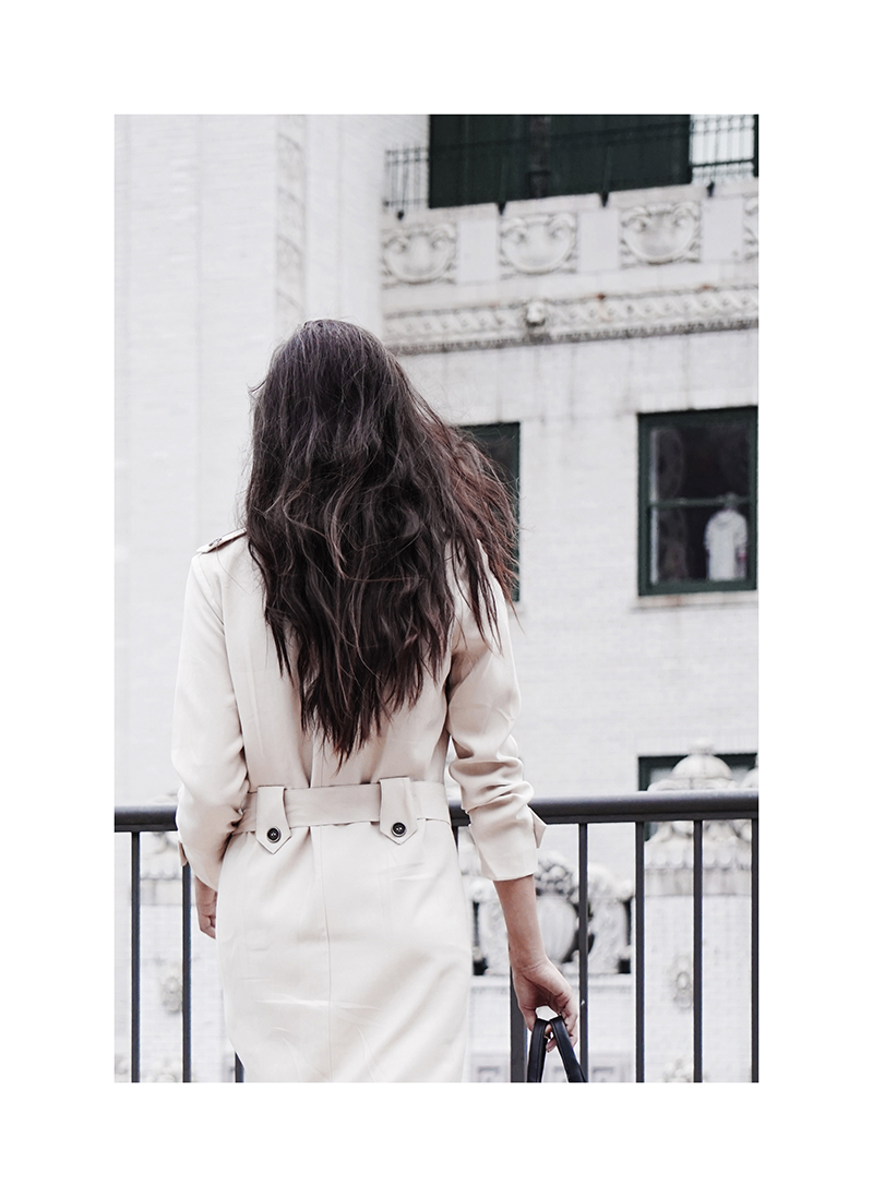 classic trench coat back