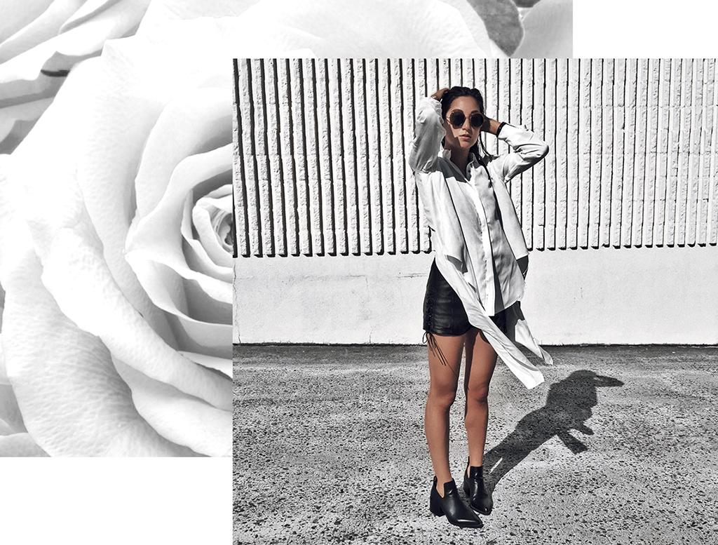 luxury minimal fashion blogger