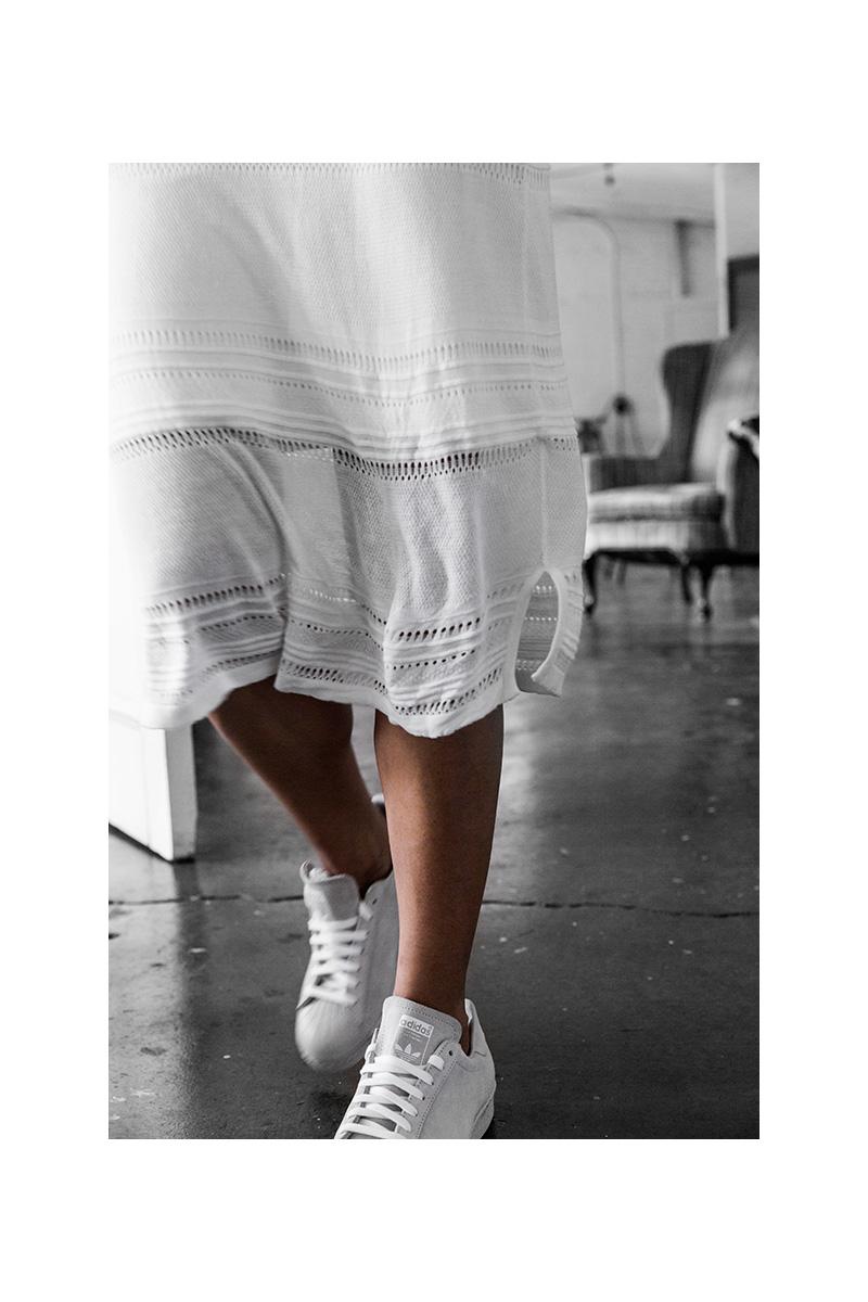 all white adidas originals