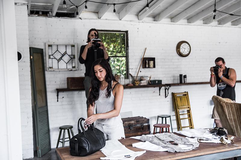 fashion blogger photography process