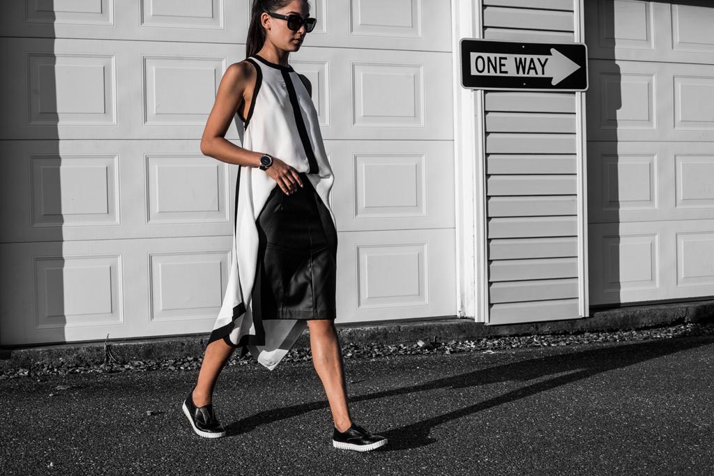 monochrome fashion tips