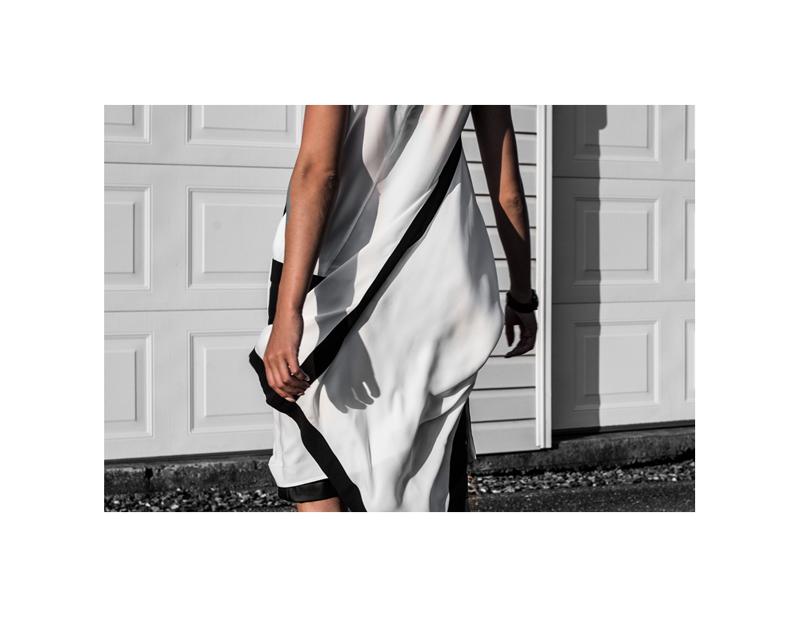 all white monochrome fashion