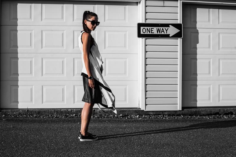 one way monochrome fashion