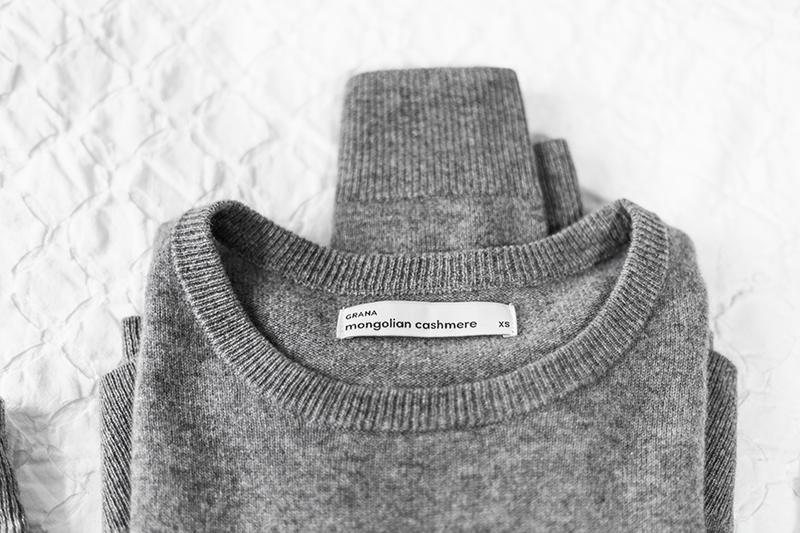grana mongolian cashmere crop sweater