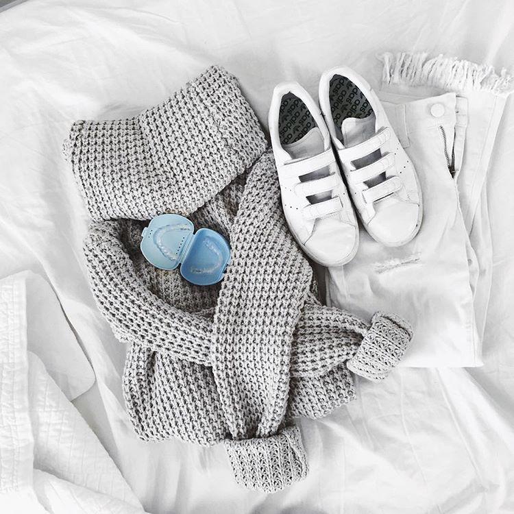 all white fashion