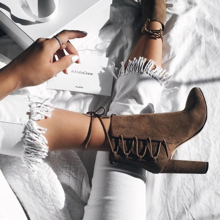 instagram feature of aldos shoes