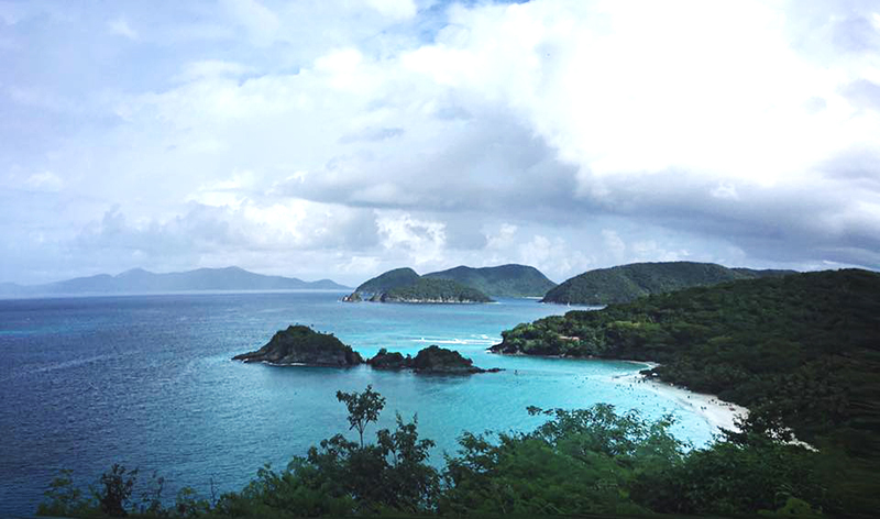 beaches of st. thomas
