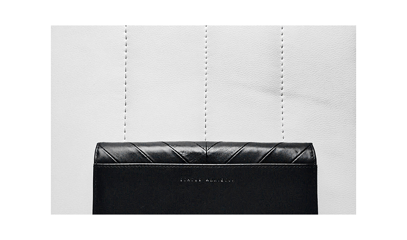 status anxiety leather wallet