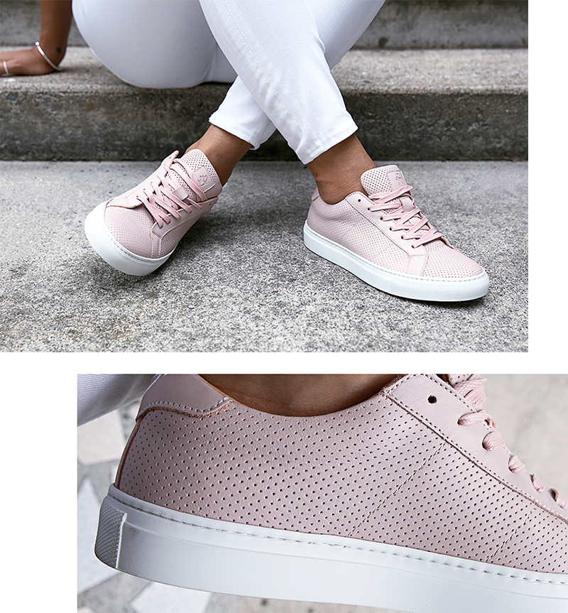 GREATS sneakers perforated leather