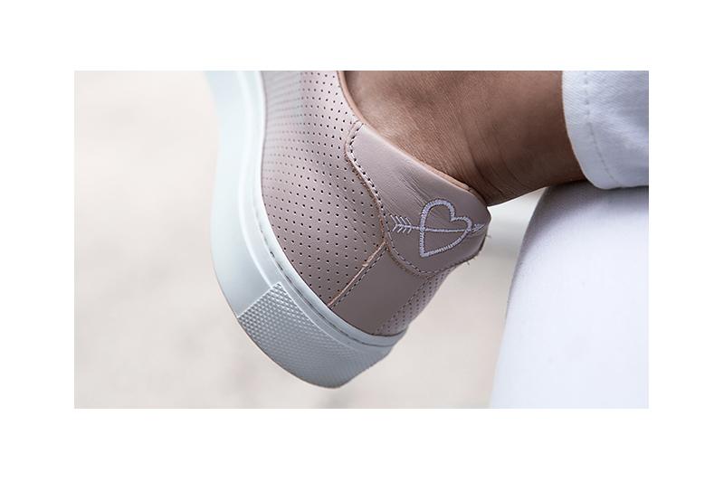 greats sneaker heel