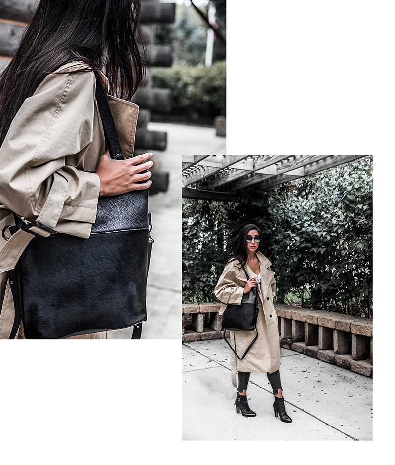 fall fashion trench coat