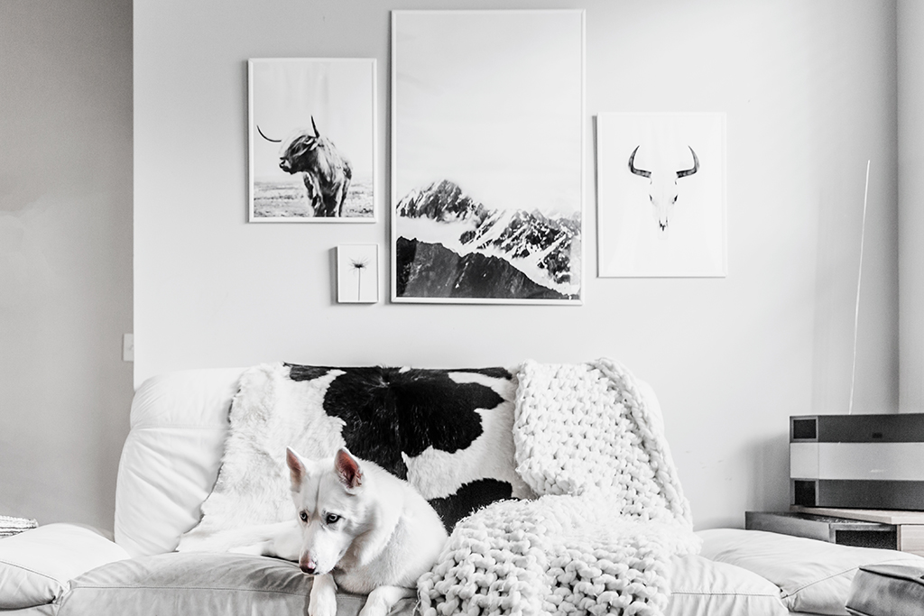 Black Room Wall Instagram