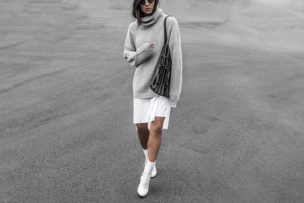 oversized sweater style
