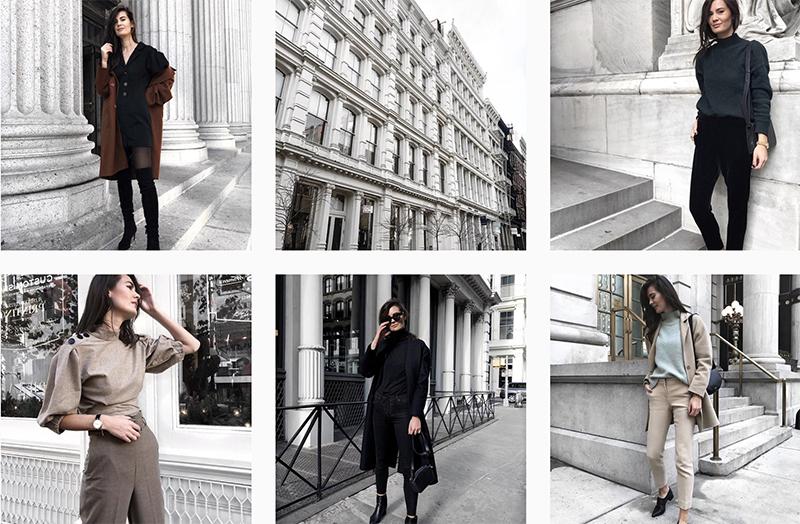 minimalist instagram blogger ivana