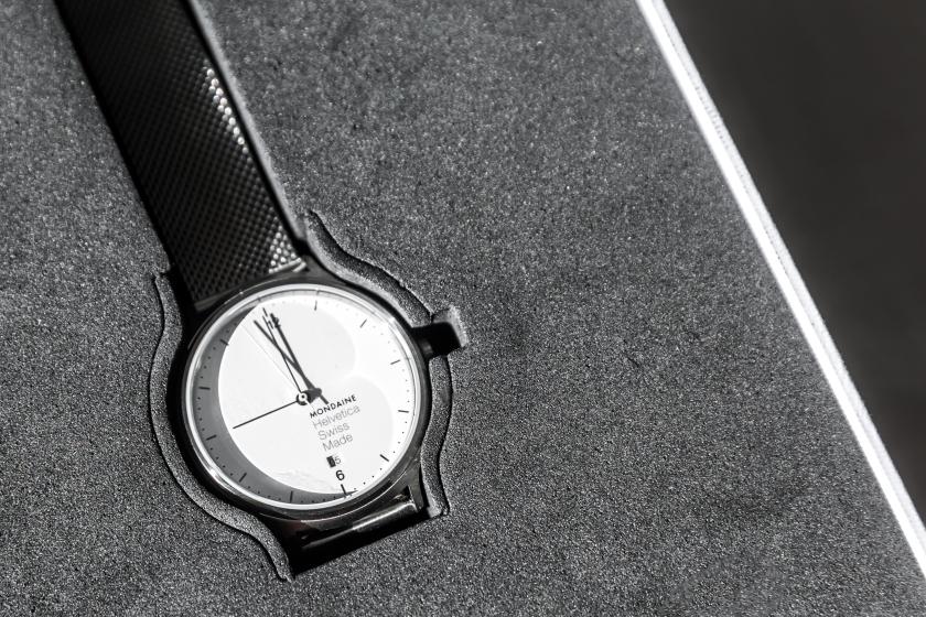 mondaine helvetica no1 watch review