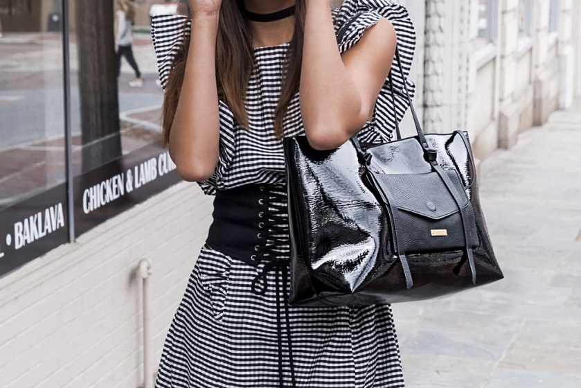 summer fashion trends gingham dress