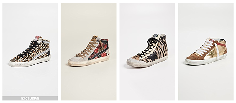 shopbop luxury fashion fall sale - golden goose sneakers