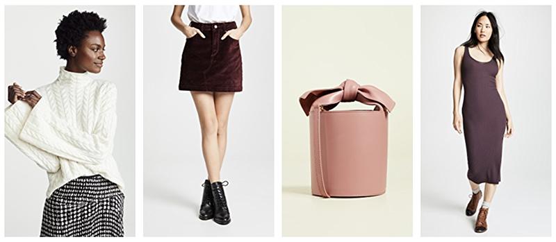 shopbop luxury fashion fall sale - new styles