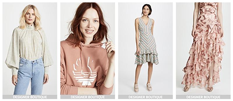shopbop luxury fashion fall sale - markdown sales