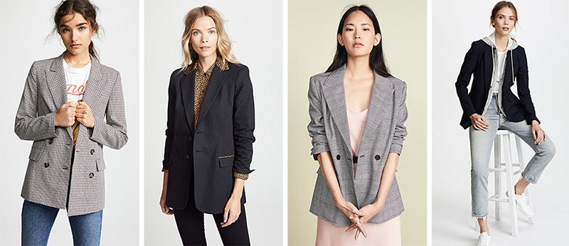 minimalist essential blazers