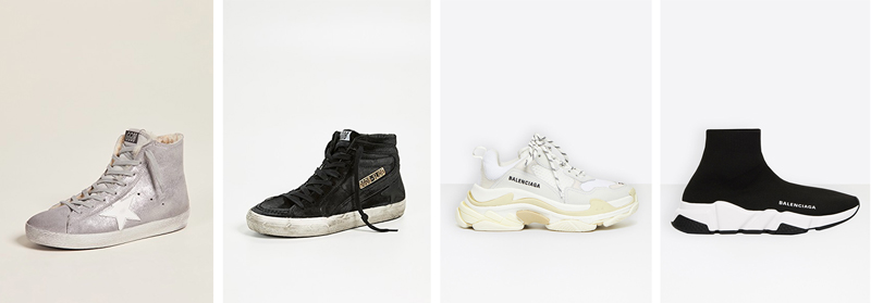 luxury essential sneakers