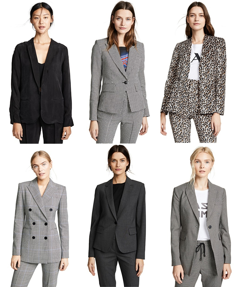 luxury fashion suit separates from shopbop