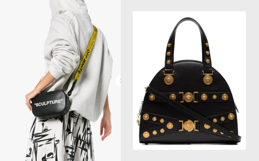 luxury handbags on sale for black friday from farfetch