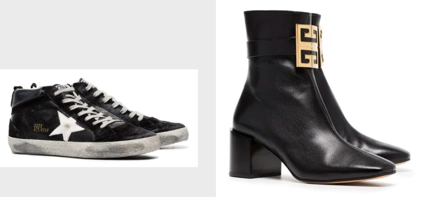 luxury fashion sneakers and boots from the farfetch black friday sale