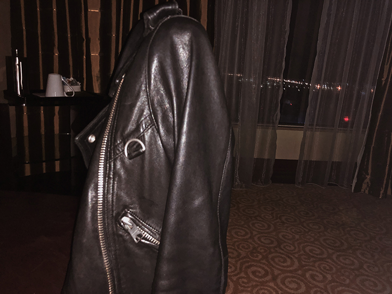 leather allsaints jacket