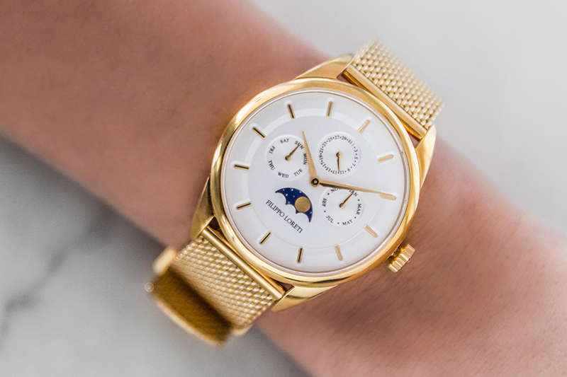 filippo loreti gold watch review