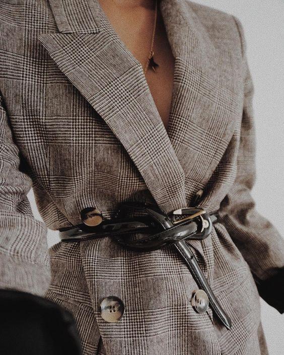 belted blazer for 2019 summer fashion trends