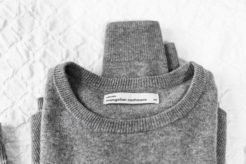 cashmere sweater from grana