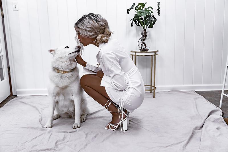 white perspex heels