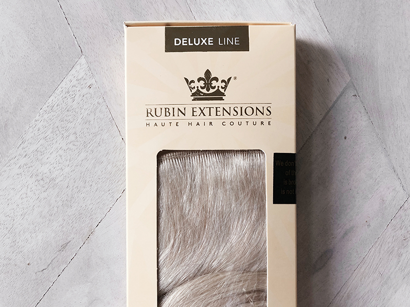 about rubin deluxe line hair extensions package