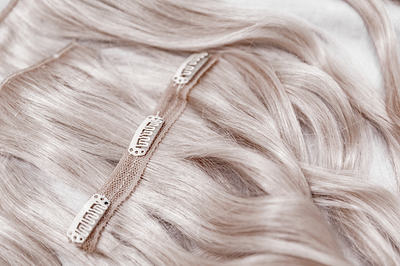 clip in back of hair extensions