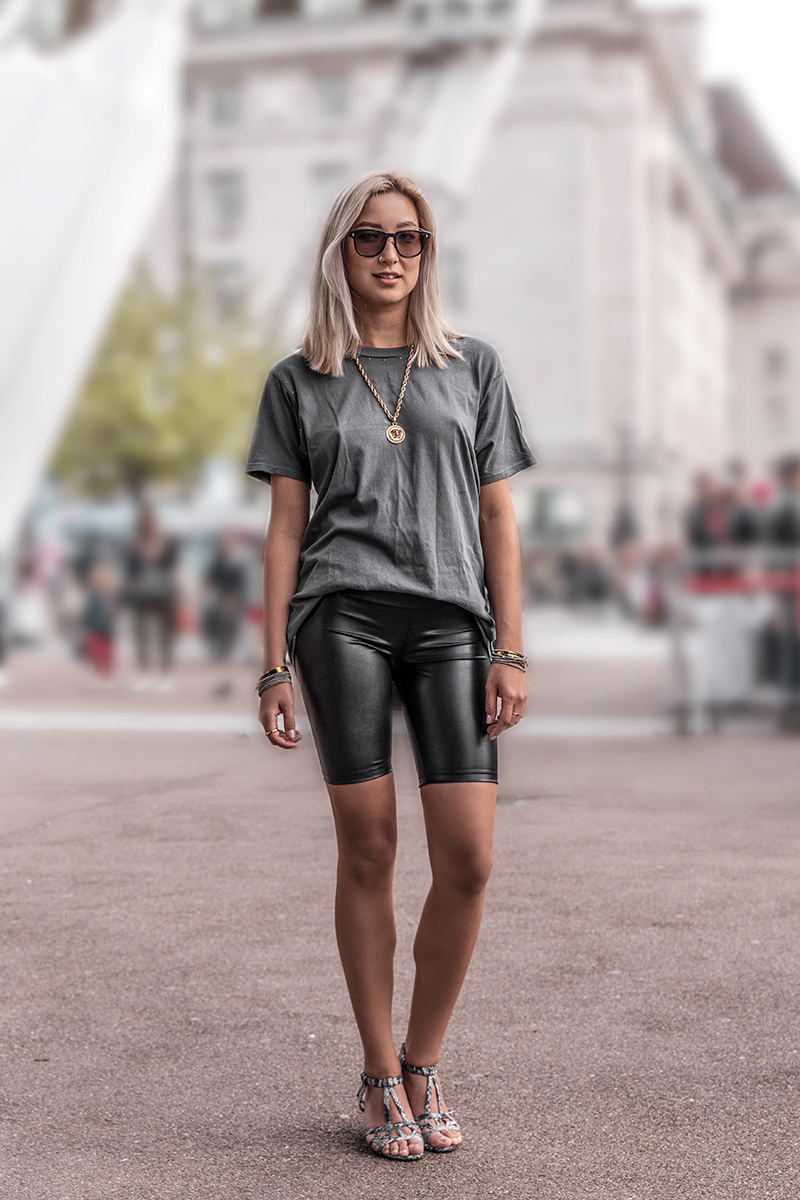 Styling Cute Outfits With Black Biker Shorts Day In My Dreams