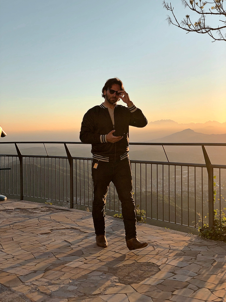 josh wolfe music at sunset in lugano