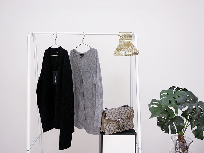 wardrobe with state cashmere luxury sweaters