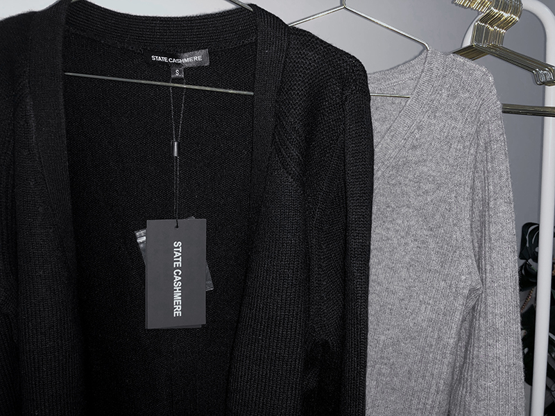 black state cashmere sweater