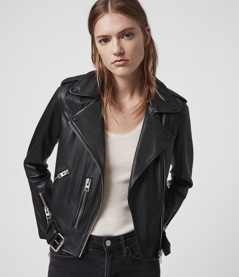 allsaints biker jacket