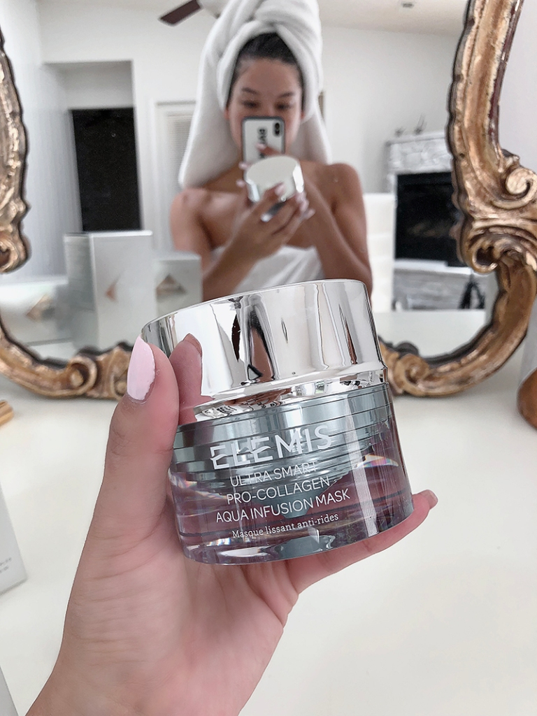 elemis Aqua Infusion Mask review fashion blogger