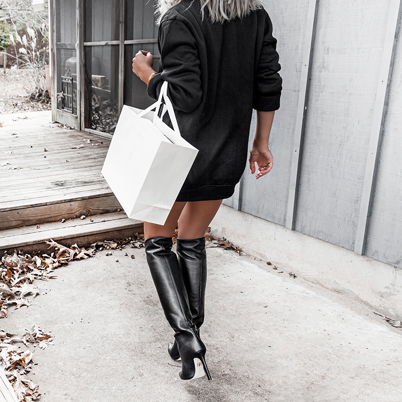 walking in tamara mellon boots
