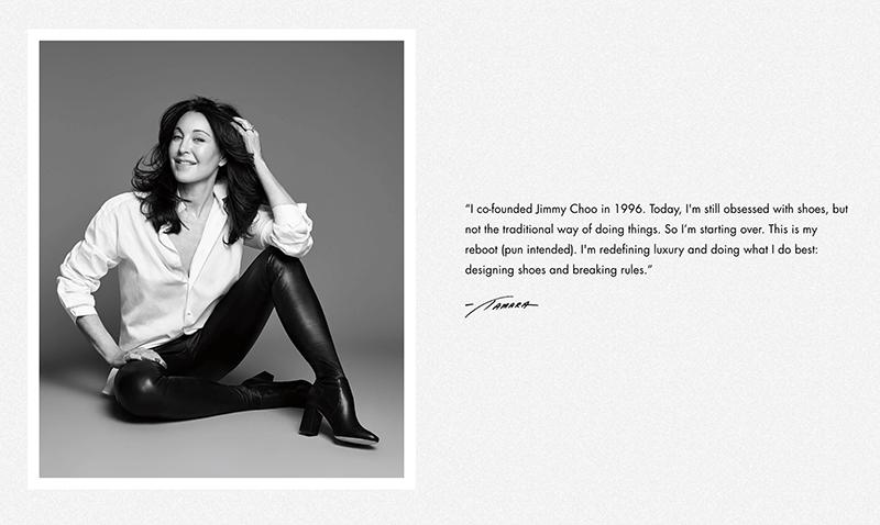 quote from luxury fashion designer tamara mellon