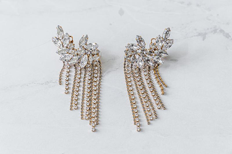 caprise decadent chandelier earrings