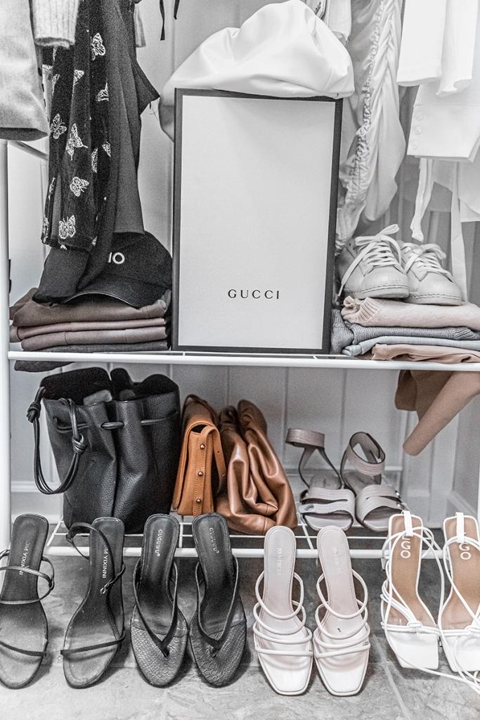 bogger's shoe closet