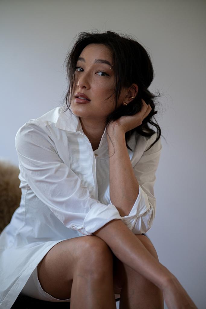 anne fontaine blouse portrait